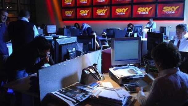 Студия телеканала SKY TG 24