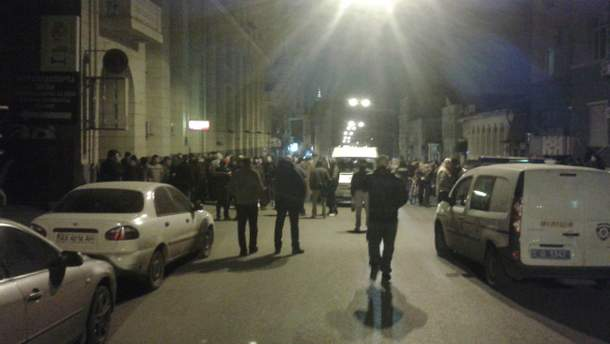 Столкновение в Харькове