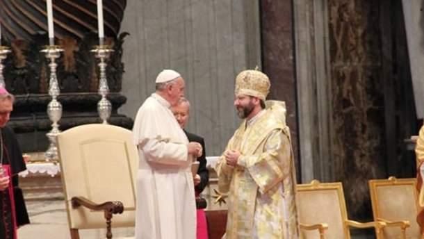 Святослав Шевчук у Ватикані