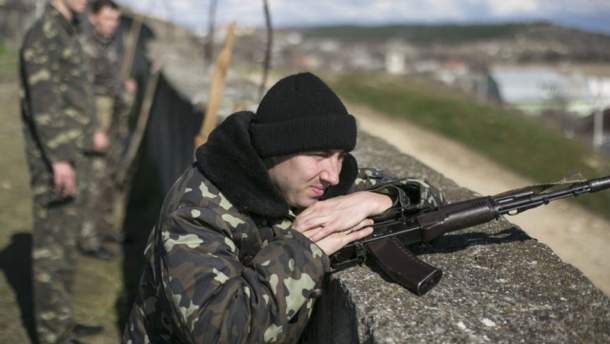 Украинские военные отбили атаку