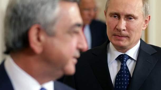 Путін і Сарґсян