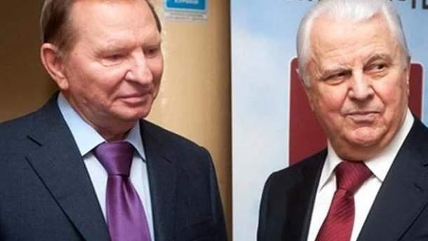 Леонід Кучма і Леонід Кравчук