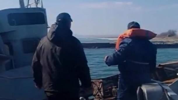 Моряки тральщика