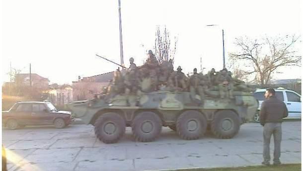 Захват батальона оккупантами