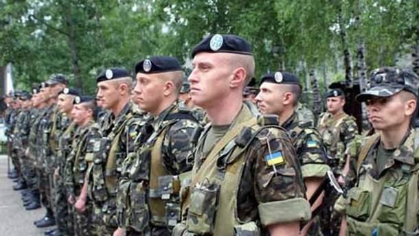 Украинские морпехи