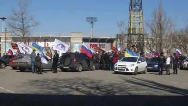 Автопробіг в Луганську