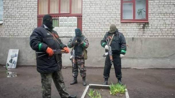 Сепаратисты в Славянске