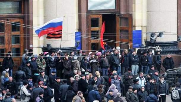 События возле Харьковской ОГА 8 апреля
