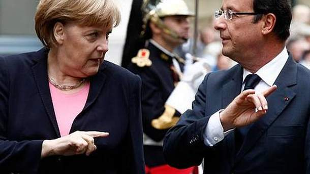 Ангела Меркель і Франсуа Олланд