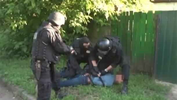 Задержание сепаратиста