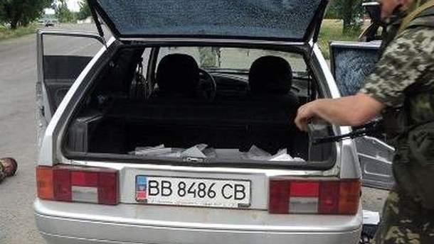 Автомобіль нападників