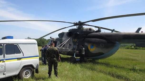 Террористы сбили вертолет