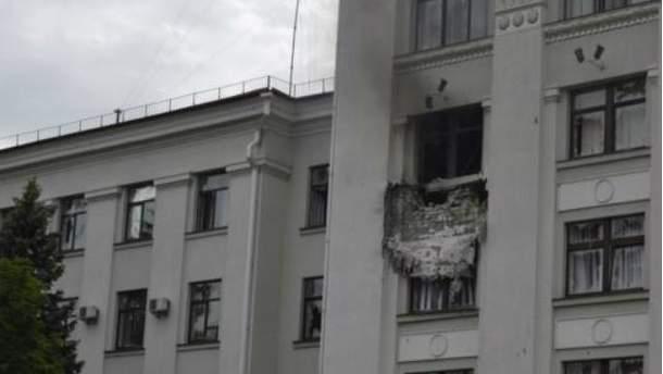 В Луганске произошел взрыв в ОГА