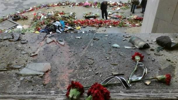 Будинок профспілок в Одесі після трагічних подій