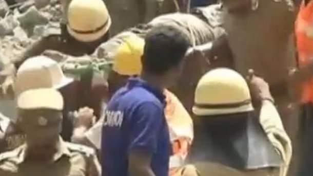 Рятувальні роботи в Чаннаї