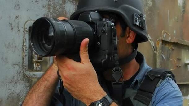 Журналісти в зоні АТО
