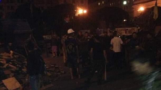 Майдан у ніч на 7 липня