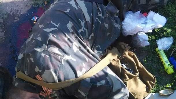 Тіло терориста, який намагався підірвати Гелетея