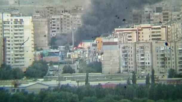 Луганск в огне
