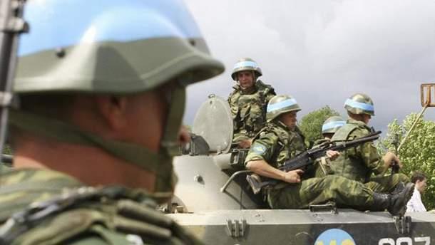 Миротворческие войска РФ