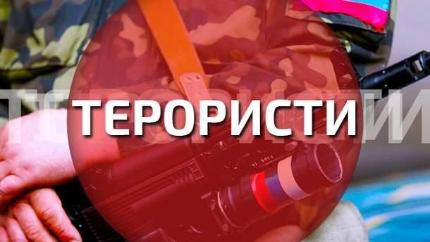 Террористы продолжают обстреливать позиции сил АТО с территории России