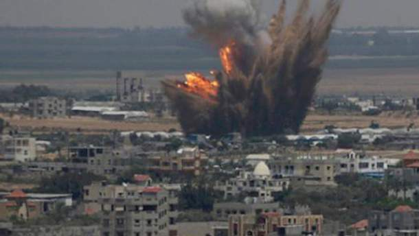 Обстріл Сектору Газа