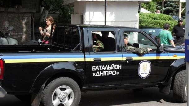 """Бійці батальйону """"Дніпро"""""""