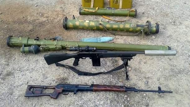 Найденное российское оружие
