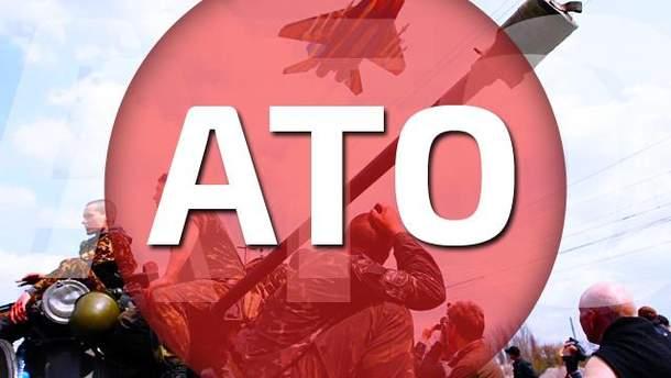 За ніч терористи тричі обстріляли позиції сил АТО біля аеропорту в Донецьку