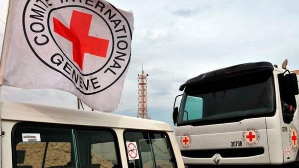 Гуманитарная помощь под эгидой Красного Креста