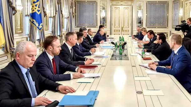 Зустріч Президента з представниками фракцій коаліції