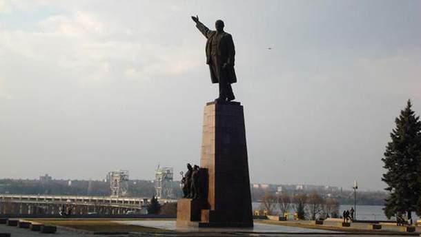 Ленін у Запоріжжі