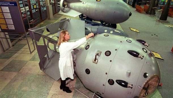 Співробітниця музею в Сарові, де в ядерному центрі працював Голубєв