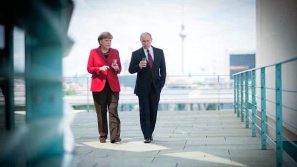 Путін просив у Меркель та Олланда автономію для Донбасу, — The Wall Street Journal