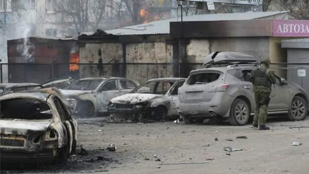 Мариуполь после обстрелов