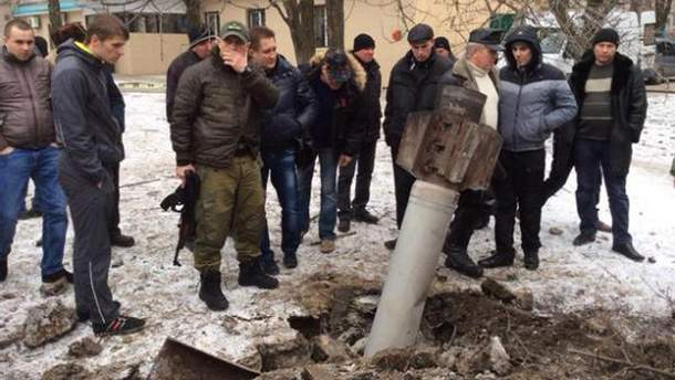 Краматорск после обстрела