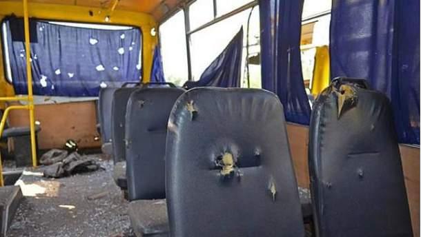 Бойовики безжально розстріляли автобус під Волновахою