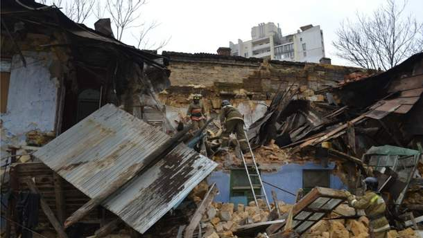 В Одесі обвалився житловий будинок