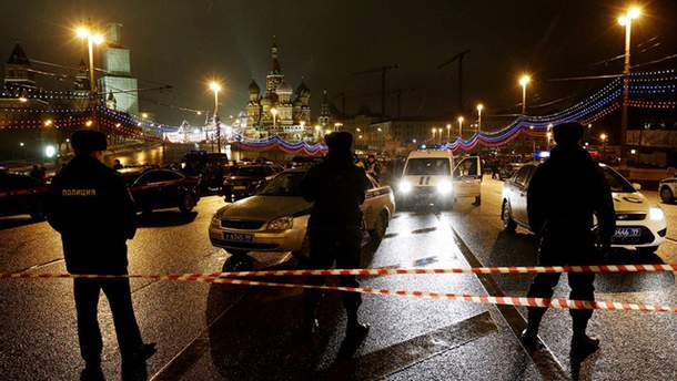 Місце вбивства Нємцова