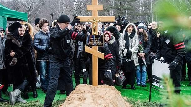 Похороны Немцова