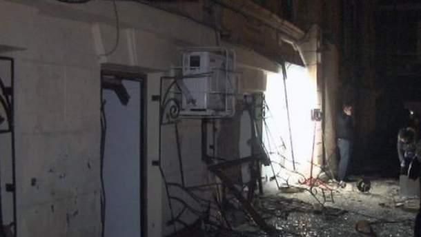 Нічний вибух в Одесі міліція кваліфікує як теракт