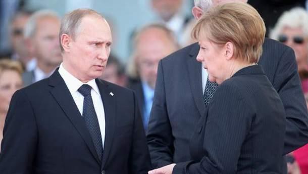 Путін і Меркель