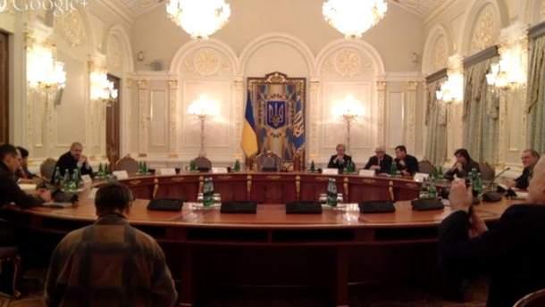 Засідання Антикорупційної комісії