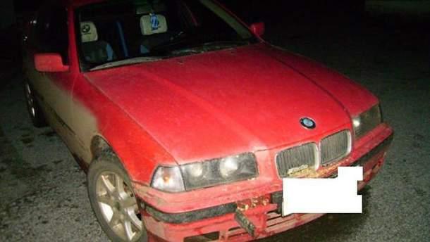 Автомобиль, на котором двигался нарушитель