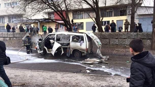 Наслідки вибуху в Харкові