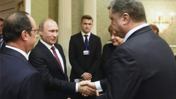 Петро Порошенко, Володимир Путін
