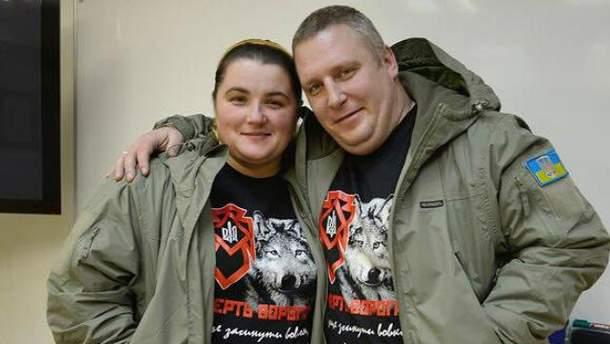 Андрій Янголенко і його дружина Інна
