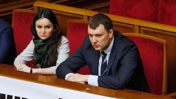 Оксана Царевич и Виктор Кицюк