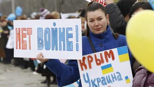 Крым — Украина