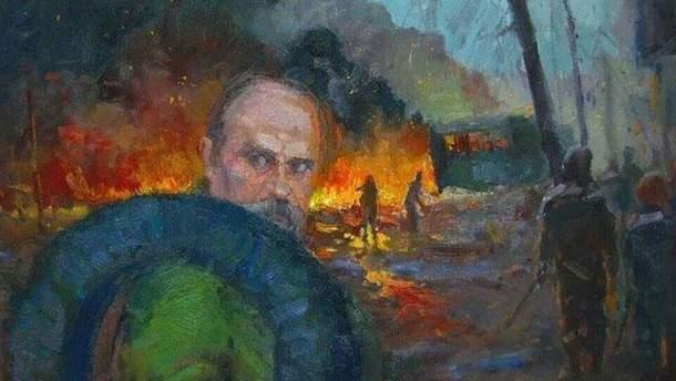 Тарас Шевченко на Майдані